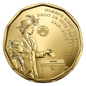 Nellie McClung on loonie